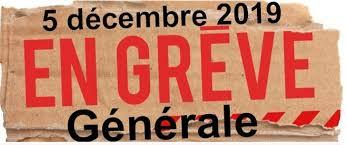 Grève le 5 décembre en France