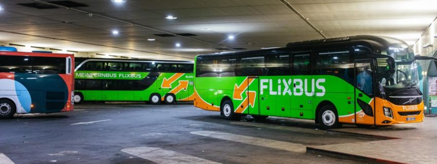 La grève des chauffeurs de bus en France