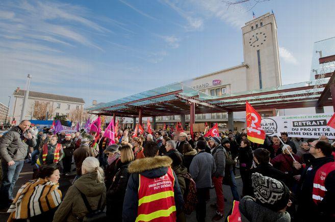 La grève de jeudi à Clermont-Ferrand