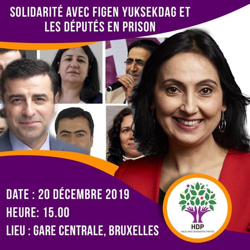 Rassemblement de solidarité avec le HDP