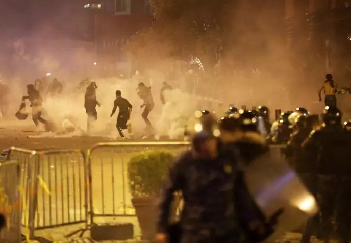 Les affrontements de samedi à Beyrouth