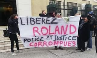 Rassemblement de soutien à Roland Veuillet (archive)