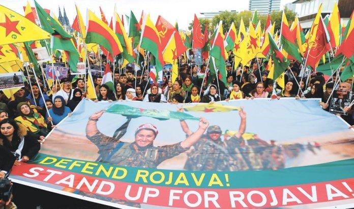 Solidarité avec le Rojava