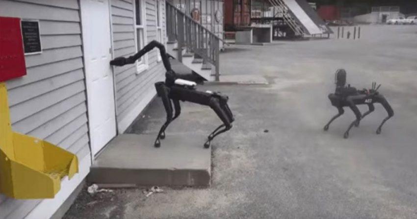 Le chien-robot de Boston Dynamics