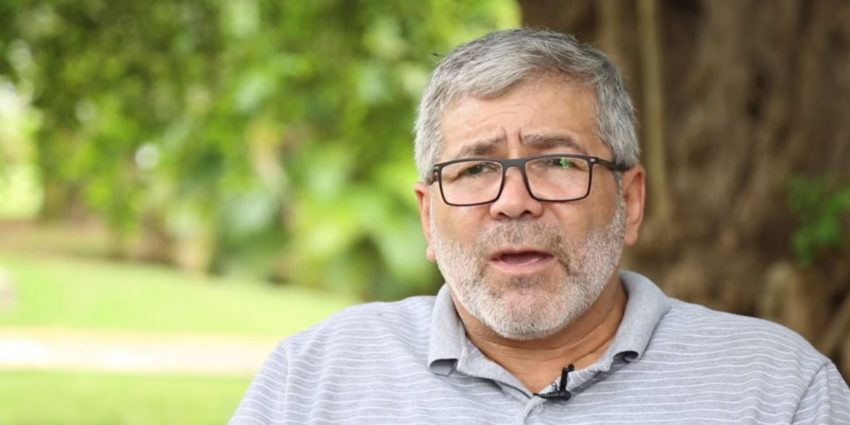 Juan Carlos Cuellar, négociateur de l'ELN