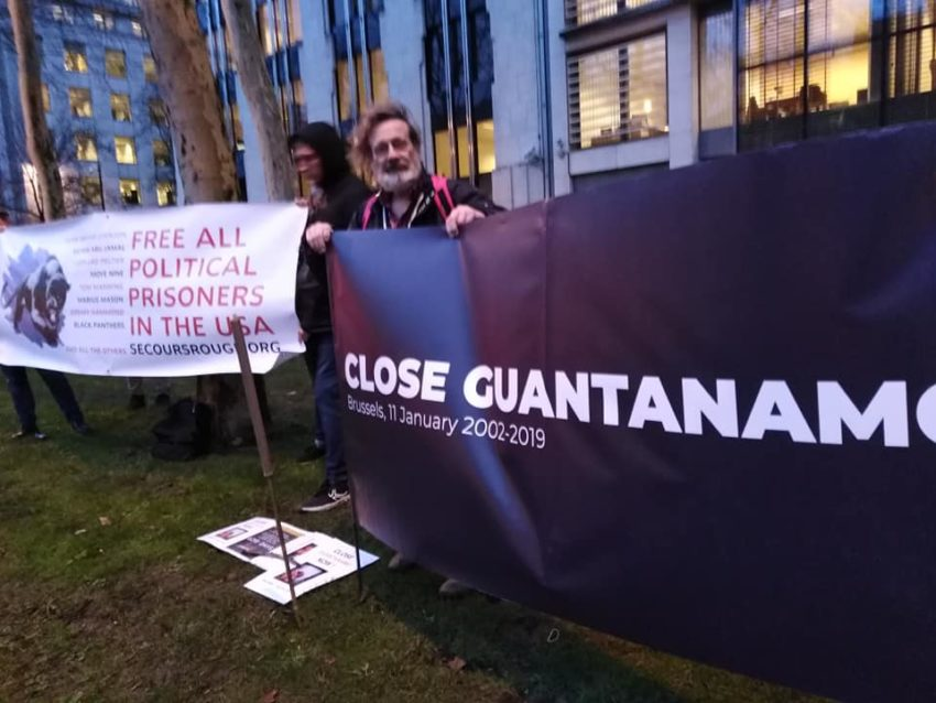 Manifestation pour la fermeture de Guantanamo