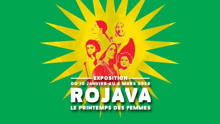 """Exposition, """"Rojava, le printemps des femmes"""""""