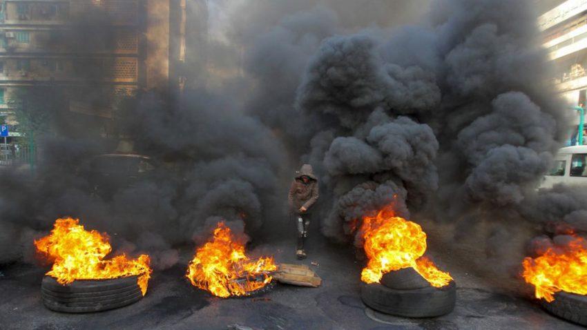 Les affrontementsq hier mercredi à Beyrouth