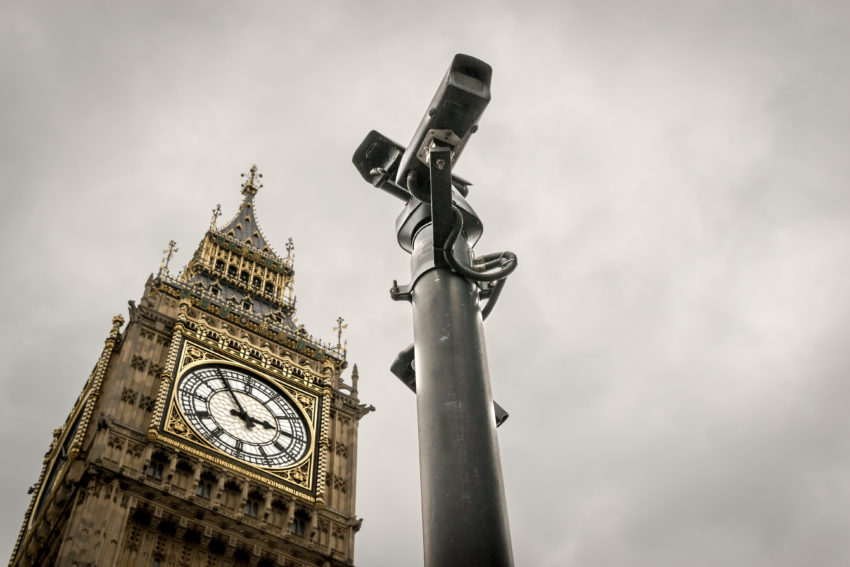Camera CCTV à Londres