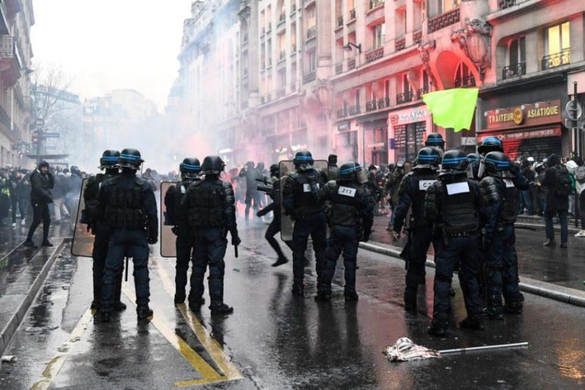 Les affrontement de ce jeudi à Paris