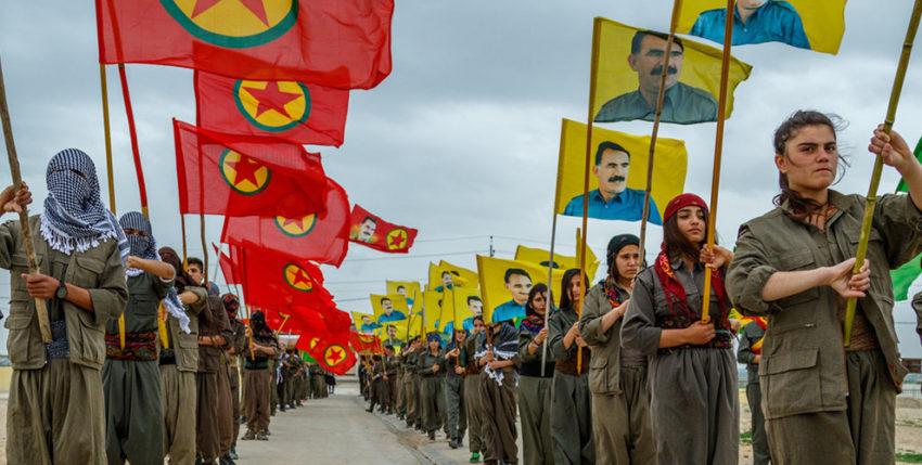 Militants et militantes du PKK