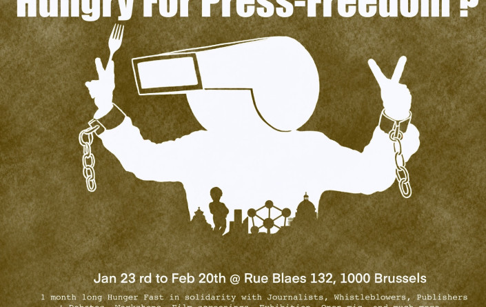 Hungry for press freedom