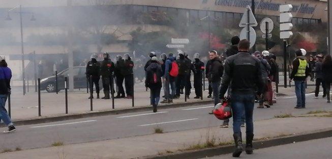 Acte 65 des Gilets Jaunes à Bordeaux