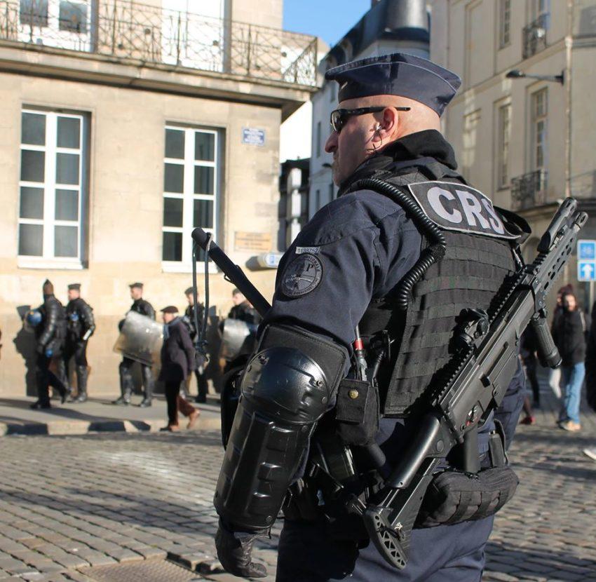 Des tireurs de précision déployés à Nantes dans le cadre des manifestations