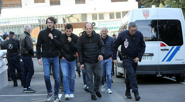 Félix Benedetti, Jean-Marc Dominici et Stéphane Tomasini