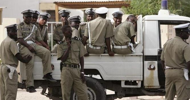Policiers mauritaniens