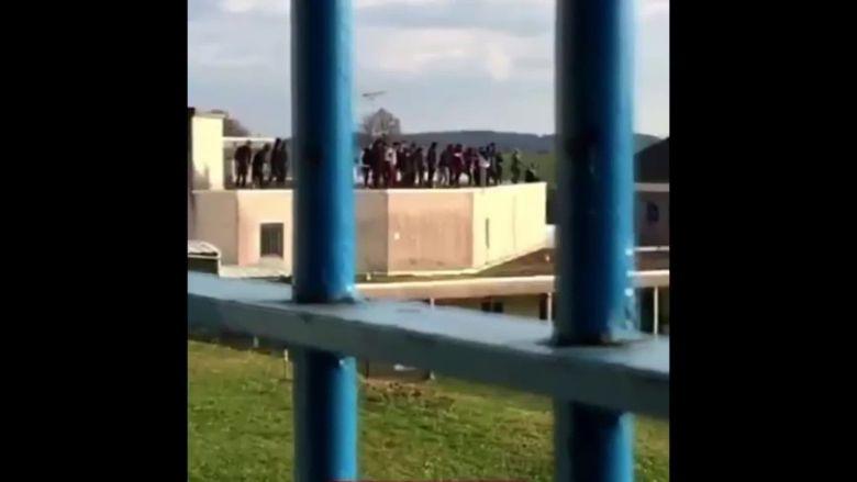 La mutnerie à la prison d'Uzerche