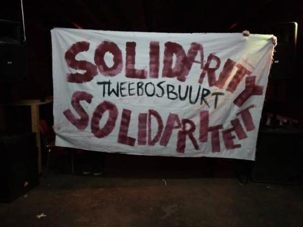 Solidarité avec les squats de Rotterdam