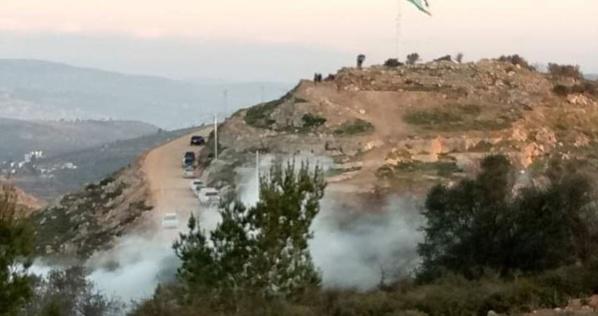 Les affrontrements sur le mont d'al-Orma