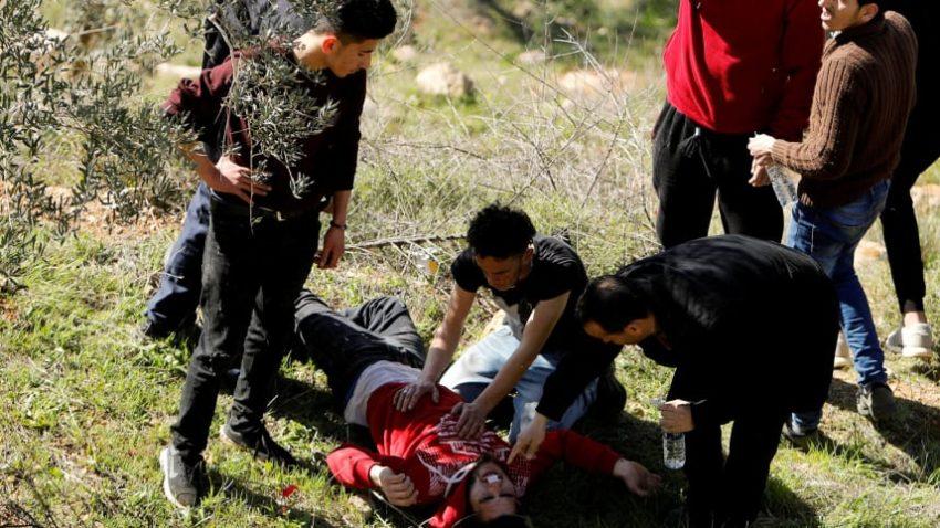 Affrontements entre manifestant·es et forces d'occupation à Naplouse