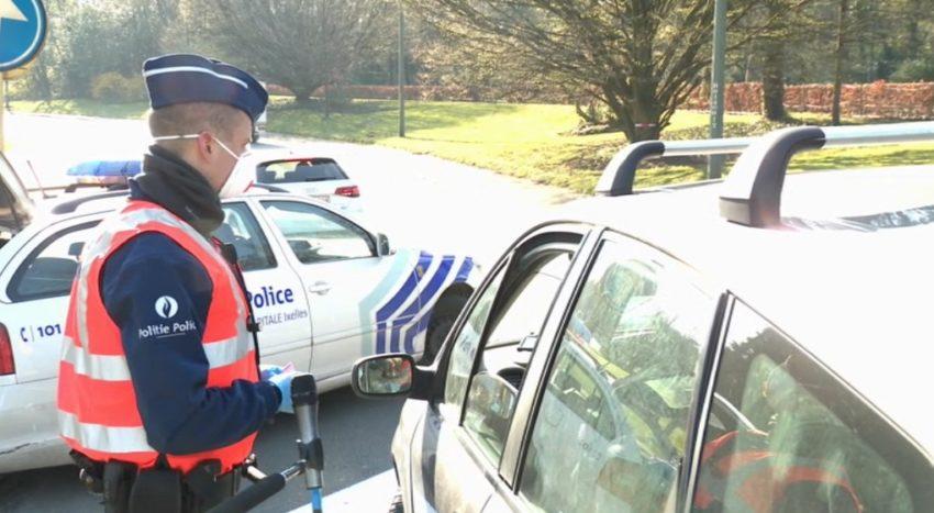 "Contrôle ""coronavirus"" de la police de Bruxelles"