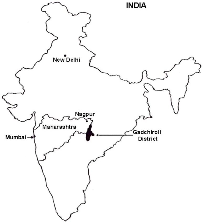 Le district de Gadchiroli