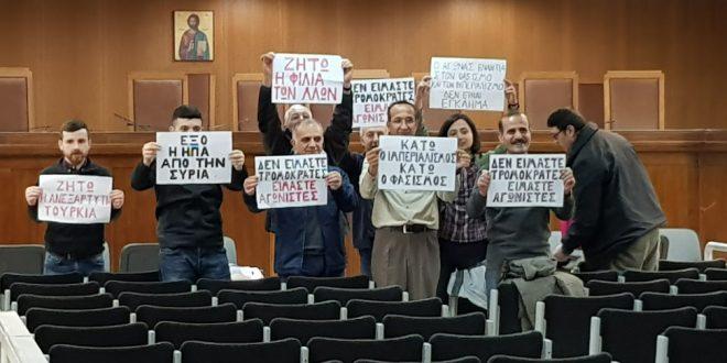 Les prisonniers du Front Anti-Impérialiste devant les tribunaux en Grèce