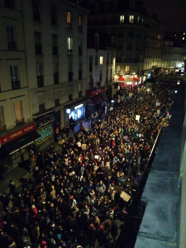 Marche nocturne feministe 7 mars 2020