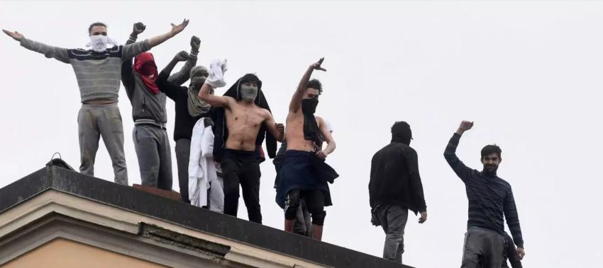 Révolte de prisonniers en Italie dans le cadre de la crise du Coronavirus