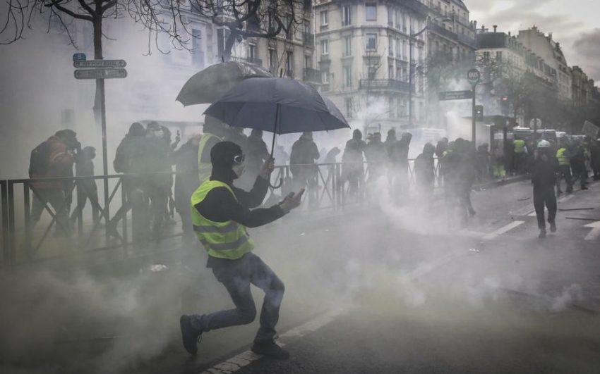 Les affrontement ce samedi à Paris