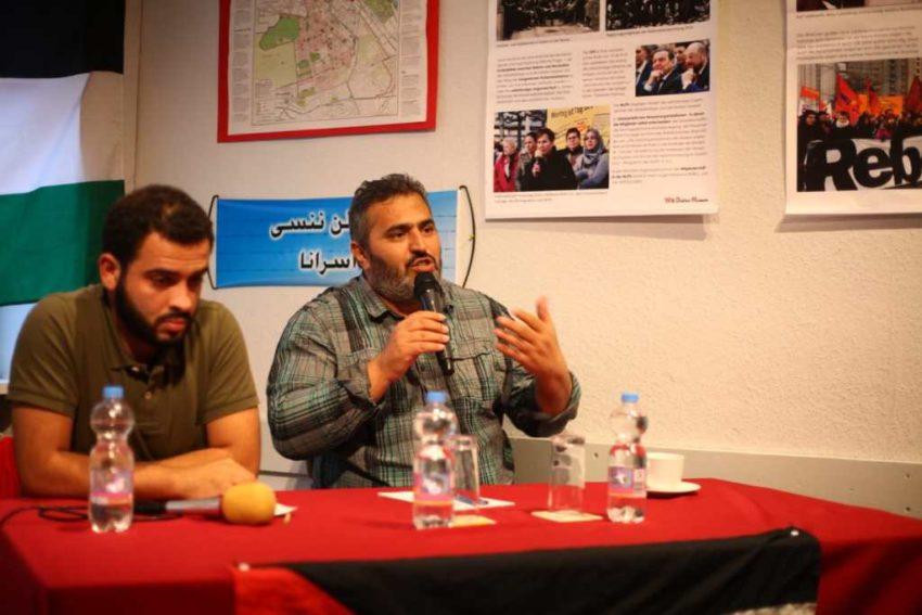 Khaled Barakat (à droite)
