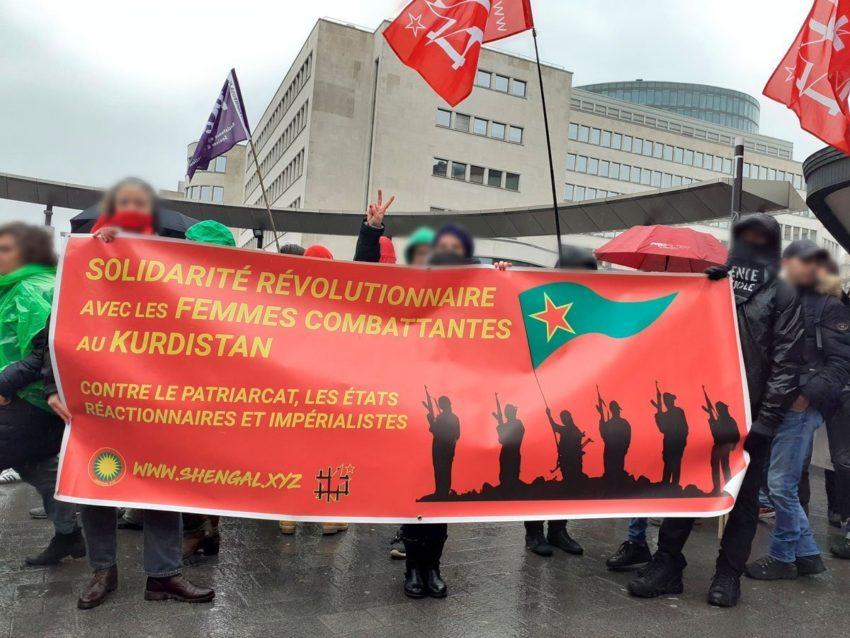 Au rassemblement de Bruxelles