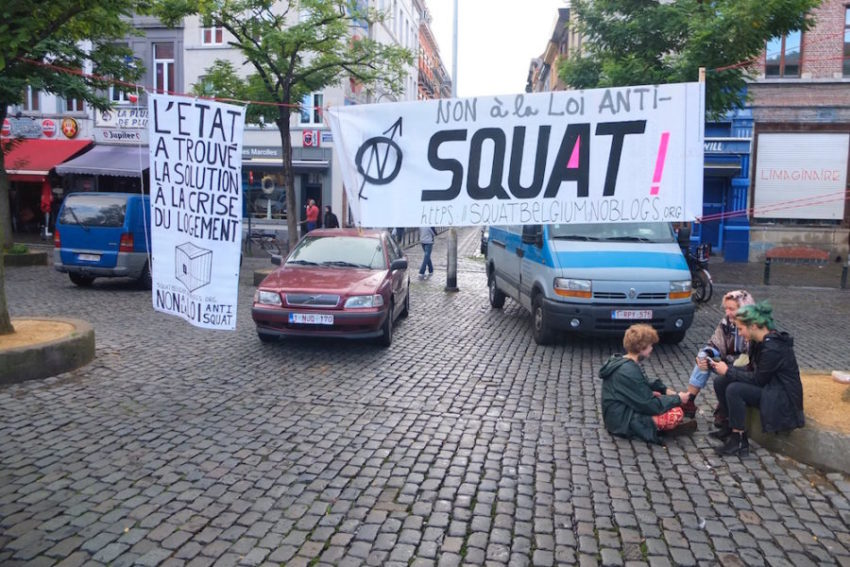 Contre la loi anti-squat (archives)