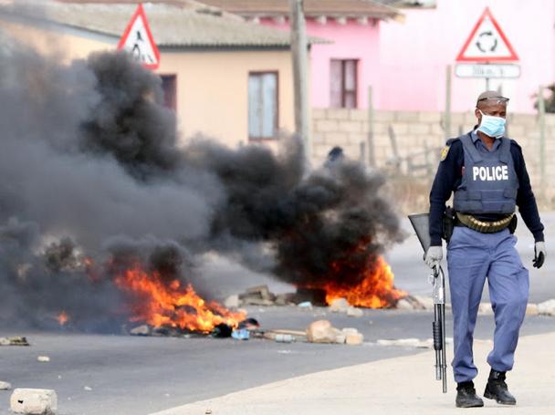 Émeute de la faim à Port Elizabeth