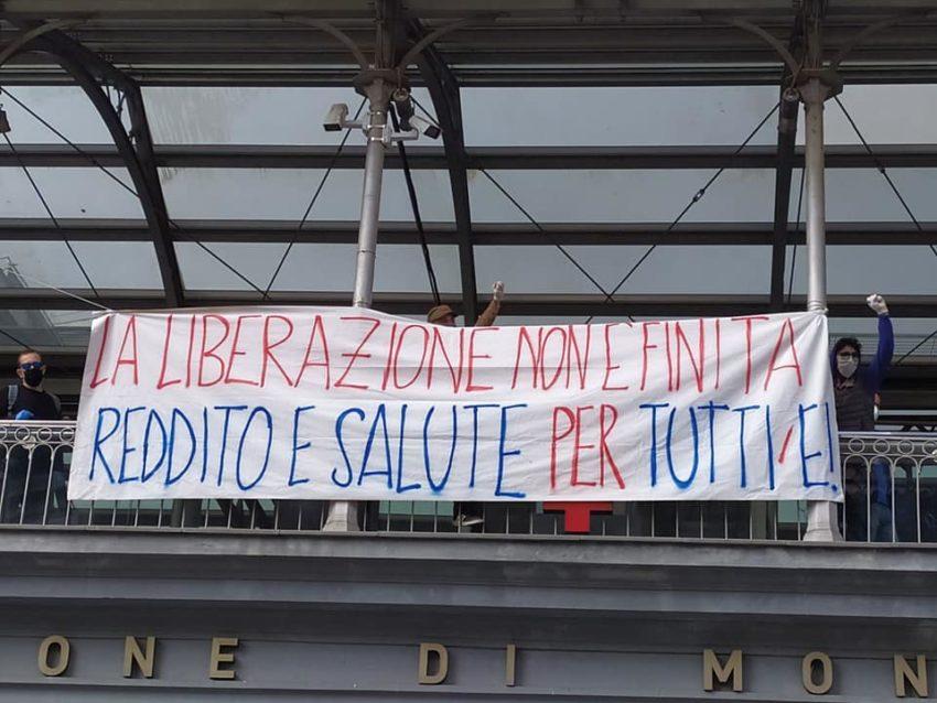 La mobilisation à Naples