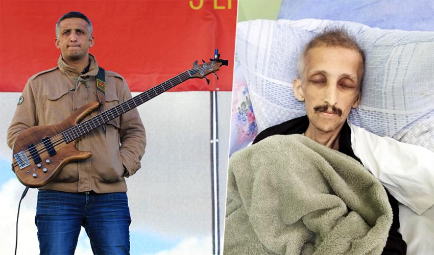 Ibrahim Gökçek, bassiste du Grup Yorum