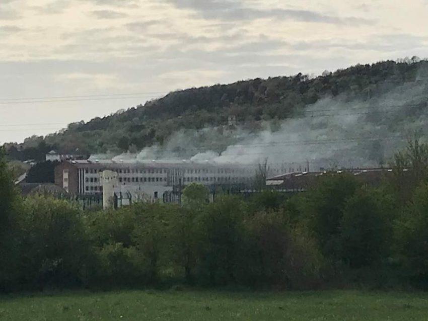 L'incendie à la prison d'Ecrouves