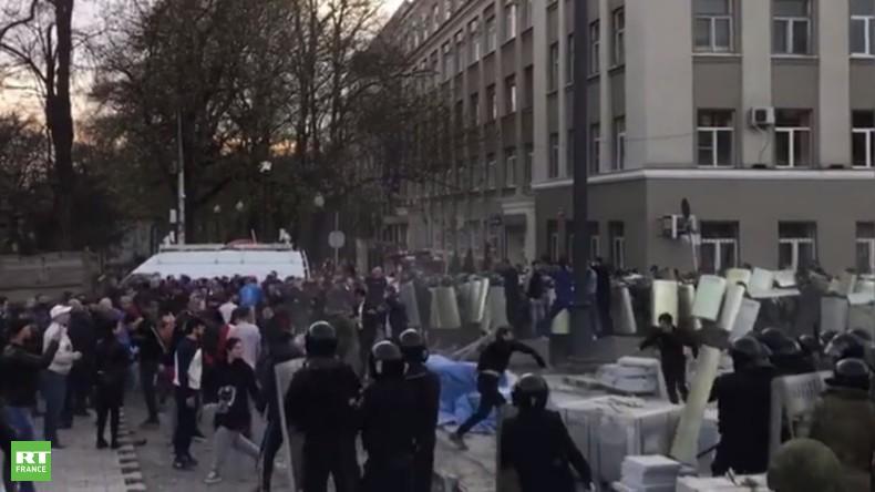 Affrontements à Vladikavkaz
