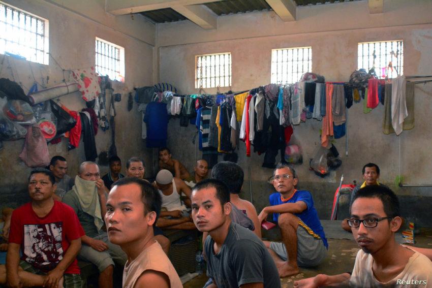 Une prison en Indonésie
