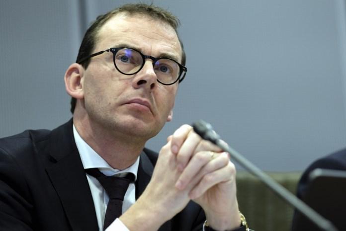Wouter Beke, ministre flamand du Bien-être, de la Santé publique, de la Famille et de la Lutte contre la pauvreté