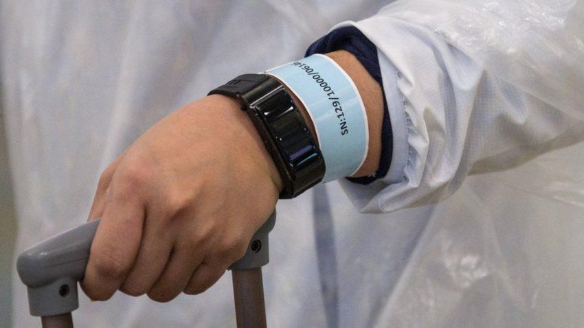 Le bracelet-mouchard de la police de Hong Kong