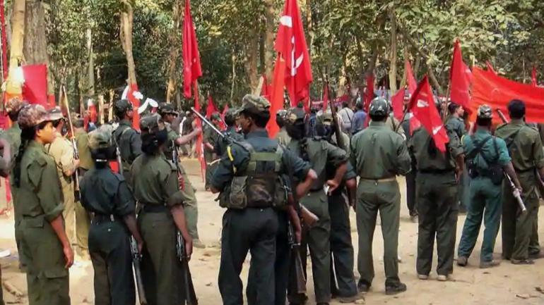 Rassemblement maoïste en Inde