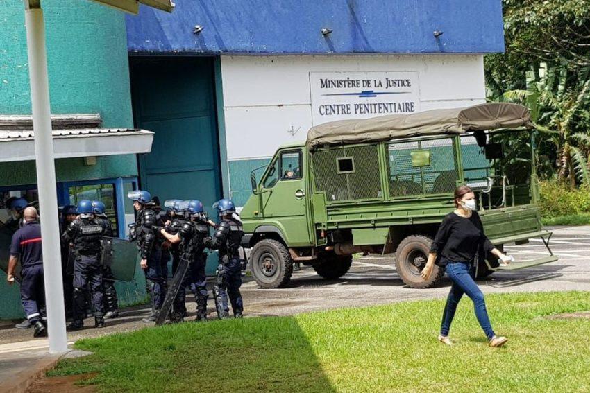 La mutinerie au Centre pénitentiaire de Rémire-Montjoly