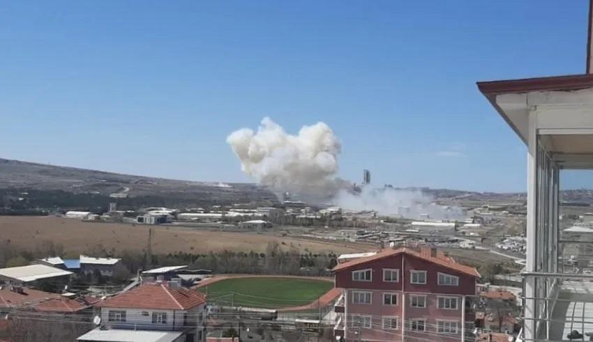 L'explosion à Roketsan