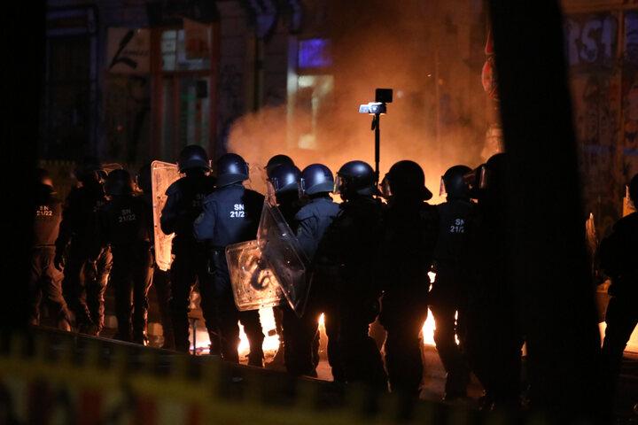 Émeute à Leipzig contre un projet de gentrification du quartier de Connewitz