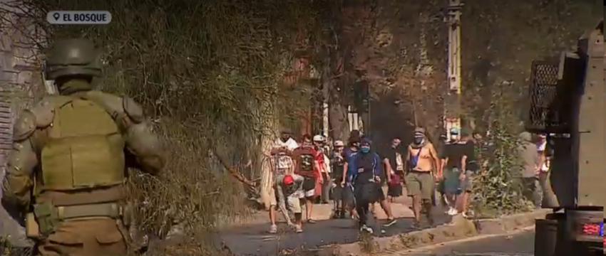 Émeutes de la faim à El Bosque