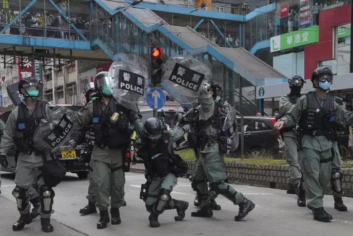 Affrontements ce dimanche à Hong-Kong