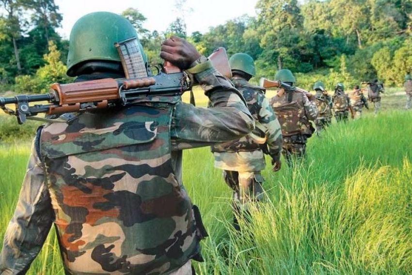 Opération anti-guérilla de la CRPF (archives)
