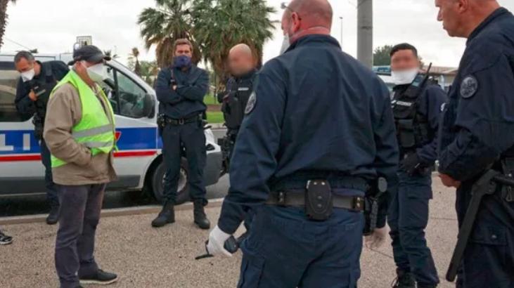 Expulsion des Gilets Jaunes d'un rond point près de Montpelier