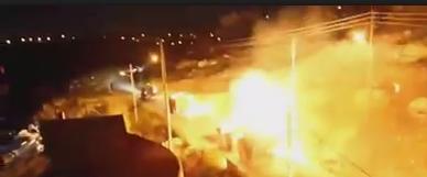La jeunesse attaque un convoi militaire de l'armée d'occupation